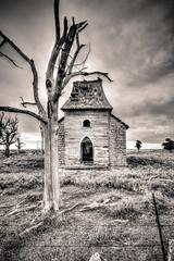 Forsaken (Dawn Loehr Photography) Tags: dawnloehrphotography canon7dmarkii abandoned church rural ruraldecay landscape landscapephotography abandonment