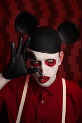 Robert Bang (Wurmwood Photography) Tags: trippy dark alternative creative nikon male portait cinematic album manson fovitec godox red portrait celebrity