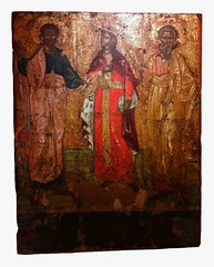 Icon of Saints Jason, Sosipatros and Kerkyra (martim33) Tags: icon saint jason sosipatros kerkyra church our lady antivouniotissa corfu byzantine collection old fortress
