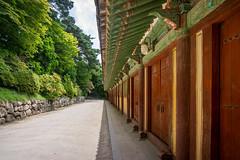 Gyeongju - Bulguksa Temple (Ry W) Tags: 2017 architecture backpacking building bulguksa gate green gyeongju korea nex7 sonyalphanex7 southkorea temple travel