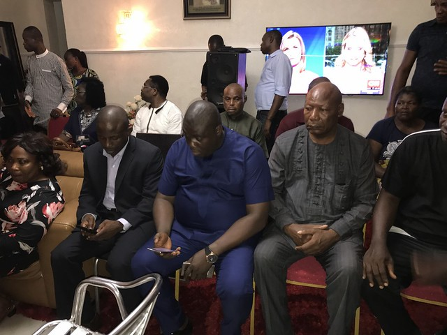 HSDickson- Condolence visit by members of the House of Assembly to His Excellency. 22nd August 2018