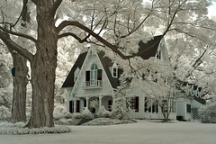 House on the Hill (infrared) (dr_marvel) Tags: house hill ir infrared rochester ny newyork pittsford point