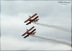 Aerosuperbatics Wing Walkers (dave101saunders (djsphotographicimages.com)) Tags: aerosuperbatics wing walkers biggin hill festival aerobatics aeroplane plane airplane aircraft flight walking