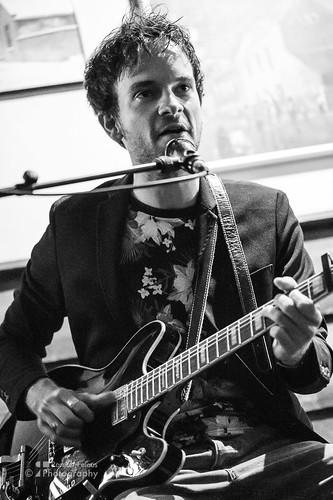 Eli Goffa in Cafe 't Groene Paard - Popmonument 2018 Bergen op Zoom