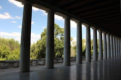 Stoa of Attalos (demeeschter) Tags: greece athens city town building archaeology street historical heritage temple shop church acropolis ruin museum stone ancient art