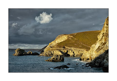 TREVELLAS COVE (Barry Haines) Tags: trevellas cove cornwall sunset sony a7r2 a7rii 85mm gm
