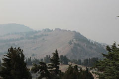 Reading Peak was close but hard to see (rozoneill) Tags: lassen volcanic national park peak hiking california volcano