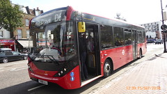 P1130246 1291 YX68 UJJ at Mile End Station Grove Road Mile End London (LJ61 GXN (was LK60 HPJ)) Tags: ctplus hackneycommunitytransportgroup enviro200 enviro200d e200d enviro200mmc enviro200dmmc mmc majormodelchange 109m 10870mm 1291 yx68ujj h2979