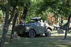BRDM-2+Konkursz (Péter_kekora.blogspot.com) Tags: budapest hungary 2018 august hdfhungariandefenceforces military magyarhonvédség orczypark