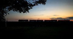 Stobart sunset (Robert France) Tags: 2018 88 britain cables catenary caterpillar class88 containers diesel directrailservices domesticintermodal drs electric electriclocomotive electricpower electricrailway electrodiesel england freight haulage hauling intermodal loco locomotive locomotives nucleardecommissioningauthority overheadline railfreight railroad railway railways silhouette silhouettes stadler stobart sunset sunsets tesco tescoexpress train trains transport uk unitedkingdom vossloh wcml westcoastmainline