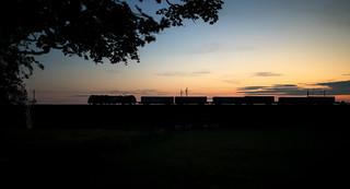 Stobart sunset