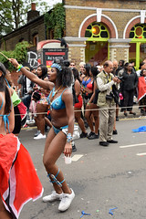 DSC_8169 Notting Hill Caribbean Carnival London Exotic Colourful Costume Girls Dancing Showgirl Performers Aug 27 2018 Stunning Ladies (photographer695) Tags: notting hill caribbean carnival london exotic colourful costume girls dancing showgirl performers aug 27 2018 stunning ladies