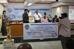 IMG_1438 (D Hari Babu Digital Marketing Trainer) Tags: national seminar digital marketing iimc hyderabad
