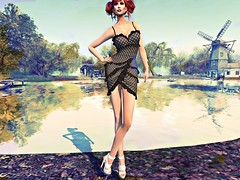 A Summer Dream (QueenBrat Bracken- MV♛IRELAND 2018) Tags: luxeparis secondlife spoonfulofsugar model black