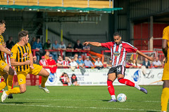 Altrincham FC vs Boston United - August 2018-145 (MichaelRipleyPhotography) Tags: altrincham altrinchamfc altrinchamfootballclub alty ball bostonunited community fans football footy goal header jdavidsonstadium kick mosslane nationalleaguenorth nonleague pass pitch preseason referee robins salfordcity save score semiprofessional shot soccer stadium supporters tackle team vanarama