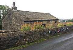 Green Head Lane.....and more Wellies! (wontolla1 (Septuagenarian)) Tags: settle scaleber forse waterfall yorkshire dales national park green head lane wellies cottage wall walking walk hiking hike