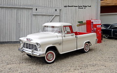 1955 Chevrolet Cameo Carrier Pickup Truck (JCarnutz) Tags: 124scale diecast franklinmint 1955 chevrolet cameocarrier pickuptruck