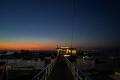 in sorrento_beach (mungchil) Tags: sorrento night travel italy italia beach magichour