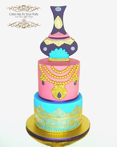 Awesome Princess Jasmine Cake A Photo On Flickriver Personalised Birthday Cards Arneslily Jamesorg