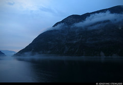 20160617_28 Clouds around mountain by fjord | Norway (ratexla) Tags: ratexlasnorwaytrip2016 norway 17jun2016 2016 canonpowershotsx50hs norge scandinavia scandinavian europe earth tellus photophotospicturepicturesimageimagesfotofotonbildbilder europaeuropean summer travel travelling landscape nature scenery scenic beautiful mountain mountains berg fog dimma mist foggy cloud clouds fjord fjords water vatten ocean hav havet roadtrip favorite