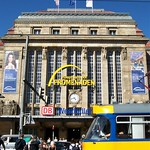 Station entrance, yellow trams - Leipzig thumbnail
