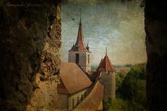 Murten (Suiza) (alanchanflor) Tags: castillo muralla canon textura color suiza murten cielo
