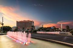 Gran Hotel Alméria (Stéphane Sélo Photographies) Tags: alméria andalousie granhotel pentax ricoh sigma1020f456 club coucherdesoleil espagne k3ii landscape mer paysage ponts port spain sunset voiliers