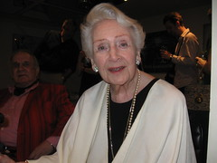 Jean Kent on her 90th birthday (London and more) Tags: bfi britishfilminstitute film cinema actress star ninety ninetieth glamour