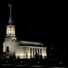 Star Valley Wyoming Temple, Night