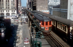 North Shore 733 Loop SLIHS dupe (jsmatlak) Tags: chicago north shore line cnsm electric interurban railroad train tram trolley cta l loop elevated