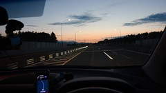 I drive the expressway at a safe speed. (MIKI Yoshihito. (#mikiyoshihito)) Tags: murano nissanmurano ムラーノ nissan suv 日産 4x4 awd 4wd 高速道路 highway expressway