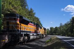 UP 1996 (Tom Trent) Tags: oregon unitedstates us jasper lanecounty unionpacific southernpacific heritageunit sd70ace emd diesel locomotive intermodal train freight rail