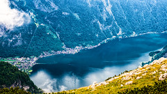 Hallstatt (forceberg) Tags: dachstein alps alpen snee glacier view derdachstein schlading reiteralm rippeteck mountain gipfel summit nikon d600 dslr forceberg szavogyul4 2018 holiday cloud cloudy blue summer tree sky rock lake river landscape water sea wood serene bay forest grass austria snow snowy car mountainside boat sand hallstatt salt salzwelt hallstatter see church tower cross world heritage österreich field road park