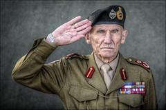 Old Soldier (Darwinsgift) Tags: montgomery old soldier stoke bruene 1940s weekend nikkor 180mm f28 af