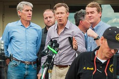 Colorado Governor John Hickenlooper and members of Congress: Sen. Mark Udall, Sen. Michael Bennet, Rep. Ed Pearlmutter, Rep. Jared Polis and Rep. Cory Gardner. (CONG)