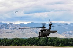 U.S. Soldiers from the 2nd Battalion, 4th Aviation Regiment out of Fort Carson, Colo., along with civilian rescue personnel, rescue members of the Jametown, Colo. (CONG)