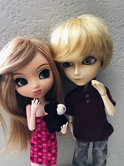 molly and dylan (angelwxngs) Tags: planning jun jp junplanning andrew la haute hautela obitsu dylan molly doll pullip