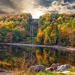 Lake Placid  - New York ~  Autumn Colours in the Adirondack Mountains - Reflection thumbnail
