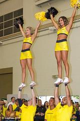 Cheer With the Ducks football 2018 (C.P. Kirkie) Tags: universityoforegoncheerleading universityoforegon oregon oregonducks oregoncheer eugene autzenstadium coaststarlight collegefootball cheerleading cheerleader cheer
