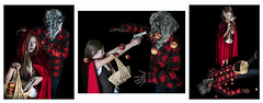 Alternative Story (MomoFotografi) Tags: wolf littleredridinghood mask apple basket animal
