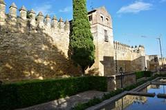 Murallas del Alcázar (Córdoba, Andalucía, España, 12-6-2018) (Juanje Orío) Tags: 2018 córdoba provinciadecórdoba andalucía españa espagne espanha espanya spain alcázar muralla wall reflejo reflection agua water biendeinteréscultural patrimoniodelahumanidad worldheritage