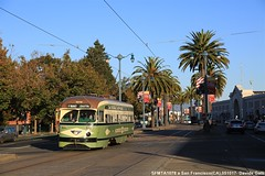 SFMTA 1078 (Davuz95) Tags: tram san francisco sfmta muni pcc railcars trolley