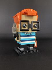 Brother Nom Nom (Ballom Nom Nom) Tags: lego system brickhead brickheads gobrickme