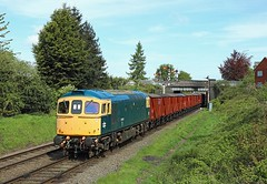 33035, Loughborough, 3 May 2018 (Mr Joseph Bloggs) Tags: 33035 33 loughborough gcr great central railway bahn railroad emrps east midlands photographic society preserved freight cargo