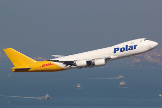 N851GT, Boeing 747-8F, Polar Air Cargo, Hong Kong