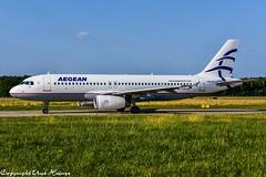 Aegean Airlines SX-DGB (U. Heinze) Tags: airlines aircraft airways airplane airbus flugzeug haj hannoverlangenhagenairporthaj eddv planespotting plane nikon