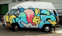 Pow Wow Rotterdam (wojofoto) Tags: rotterdam nederland netherland holland powwow graffiti streetart wojofoto wolfgangjosten paintedcar car oles 2018