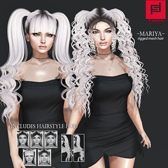 Mariya (FABIA.HAIR) Tags: hair rigged 3d moda woman beauty look piktures fabia nice meef head fashionlook virtual meshair special second sl secondlife sweet event fashion hairstyle life lovely avatar spam style shopping new release best love everyday art