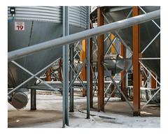 mille quatre cents hectares (Mériol Lehmann) Tags: silos agriculture organic cereals farming