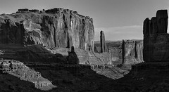 Morning Sandstone (arbyreed) Tags: arbyreed landscape sandstone redrock monochromelandscape monochrome bw blackandwhite arches grandcountyutah parkavenue morning sandstoneformations